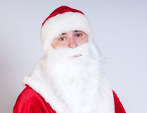 Sad Santa Claus Stock Photo
