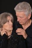 Sad Senior couple Stock Photography