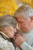 Sad senior couple Royalty Free Stock Photography