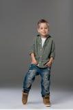 Sad small boy Stock Photos