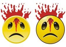 Sad smile Stock Images