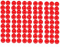 Sad in smile area icon Stock Photo