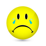 Sad Smiley Stock Image