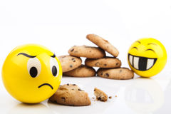Sad Smiley Royalty Free Stock Photography