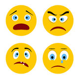 Sad smiley Royalty Free Stock Images