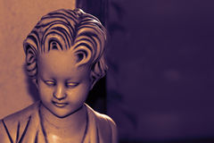 Sad statue Royalty Free Stock Images