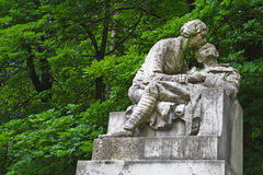 Sad statue Royalty Free Stock Photo