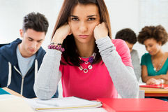 Sad Student Stock Photo