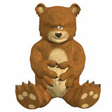 Sad Teddy Bear Stock Image