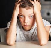 Sad teen Royalty Free Stock Photos