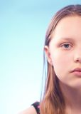 Sad teen girl Royalty Free Stock Photo