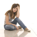 Sad teenager Royalty Free Stock Images