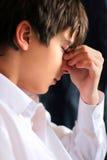 Sad teenager. Portrait close up Royalty Free Stock Images