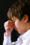 Sad teenager. Portrait close up Royalty Free Stock Photos