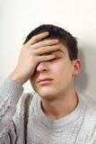 Sad Teenager Stock Images