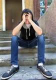 Sad Teenager Stock Photos