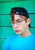 Sad Teenager outdoor Stock Photography