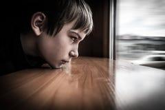 Sad Teenager Portrait Stock Photography