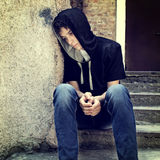 Sad Teenager Stock Image