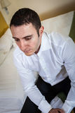 Sad to be lonely Stock Photo