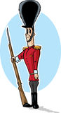 Sad toy soldier Royalty Free Stock Image