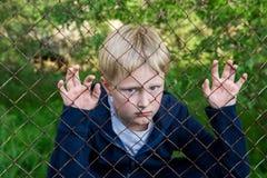 Sad upset boy Stock Photography