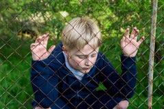 Sad upset child Stock Images