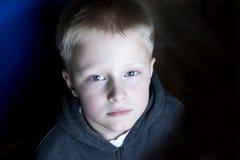 Sad upset child Stock Photography