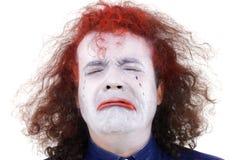 Sad White Face Royalty Free Stock Photography