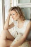 A sad woman Royalty Free Stock Photography