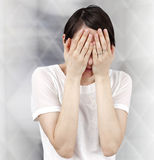 Sad woman Royalty Free Stock Images