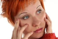 Sad woman Royalty Free Stock Photography