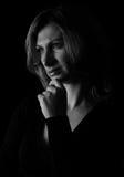 sad woman Στοκ Φωτογραφίες