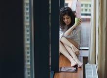 Free Sad Woman At Home Royalty Free Stock Images - 38416929