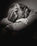 Sad woman. Royalty Free Stock Image