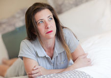 Sad Woman stock photos