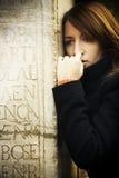 Sad woman portrait Royalty Free Stock Image