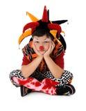 Sad Young Clown Stock Images