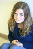 Sad young girl Royalty Free Stock Photo
