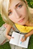 Sad young girl Stock Image