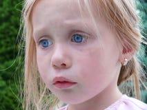 Sad young girl Stock Photo
