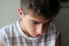 Sad Young Man Royalty Free Stock Photos