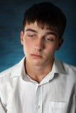 Sad Young Man Royalty Free Stock Images