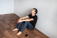 Sad Young Man Royalty Free Stock Photography