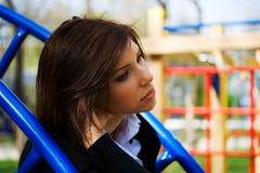 Sad young woman. Stock Image