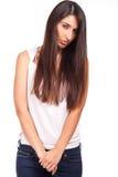 Sad young woman Stock Image