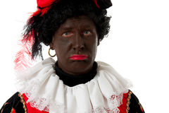 Sad Zwarte Piet ( black pete) Stock Photos