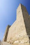 Sadaba castle Royalty Free Stock Image