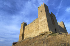 Sadaba castle Stock Image