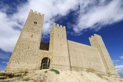 Sadaba castle Stock Images